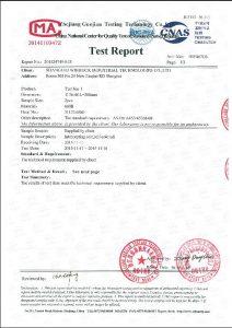 A453 660B uchun sertifikat