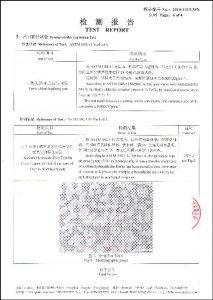 S32750 uchun sertifikat
