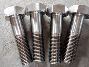 No.15-Nitronic 50 XM-19 Hex murvat DIN931 UNS S20910